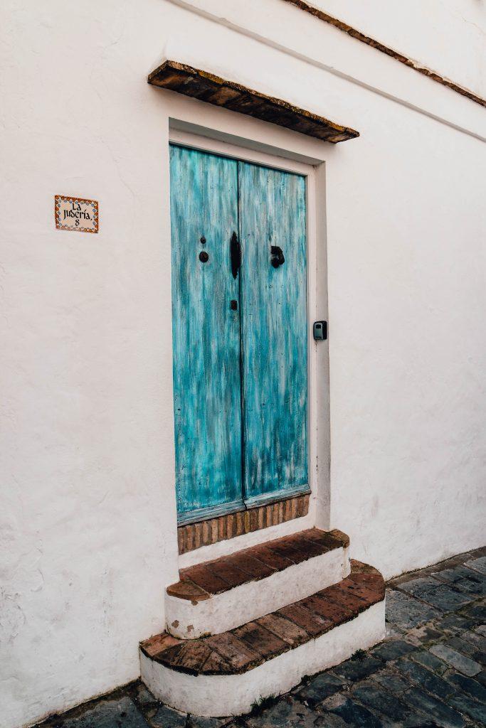 Doors in Vejer de la Frontera, Andalusia