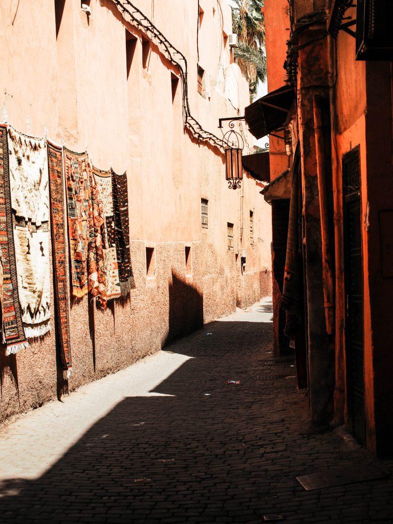 Strolling around in Marrakech