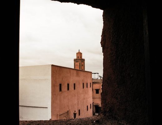 View on the Koutoubia Mosque in Marrakech