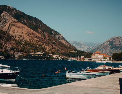Overview of the Bay of Kotor