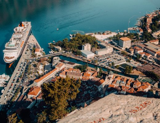 Kotor views from above, Montenegro