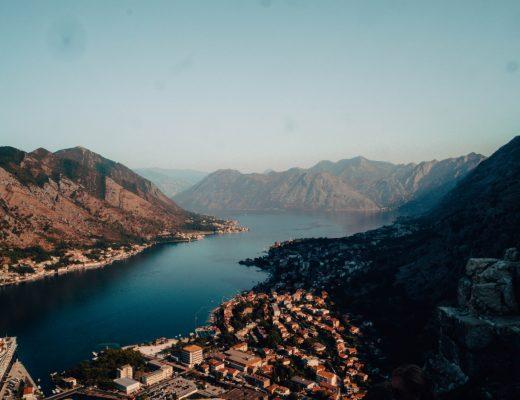 Kotor Fortress views, Montenegro