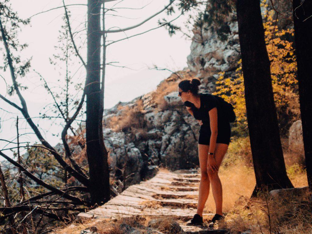 Hiking Kotor to Tivat, Montenegro