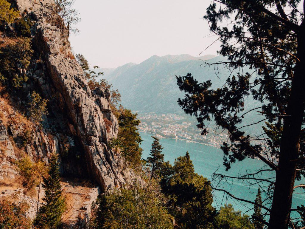 View on Kotor Bay, Montenegro