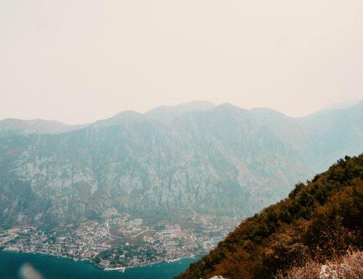 Vmrac Ridge, From Kotor to Tivat, Montenegro