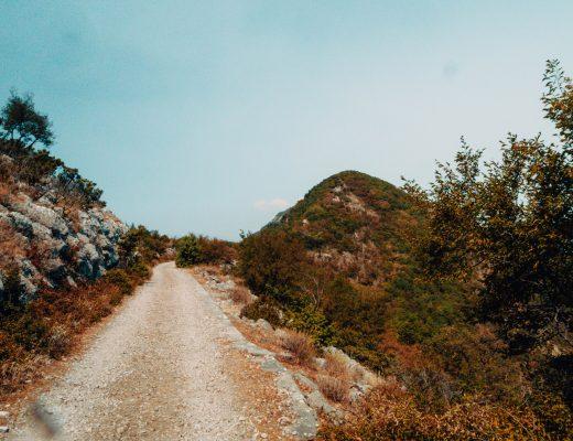 Vrmac Hill, Ridge, Montenegro