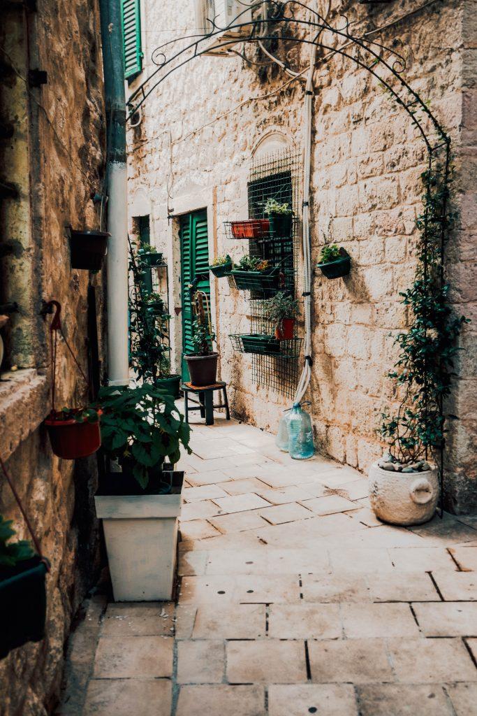 Little alleys in Kotor