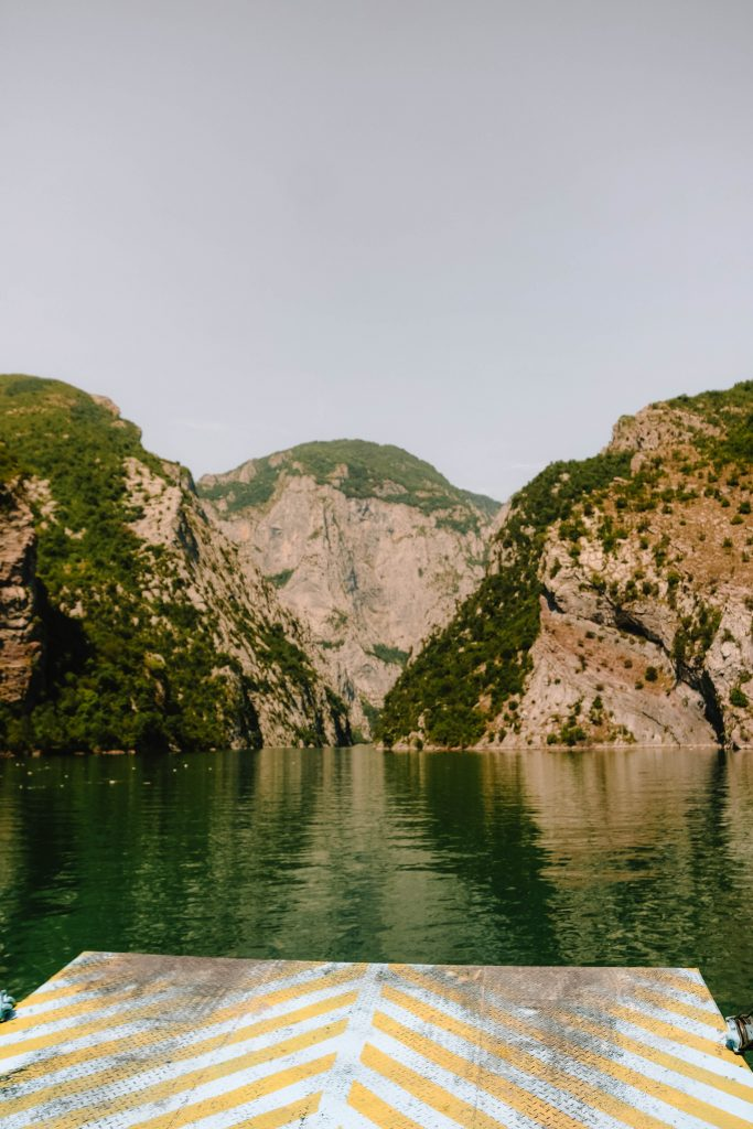 Lake Koman Guide, North Albania