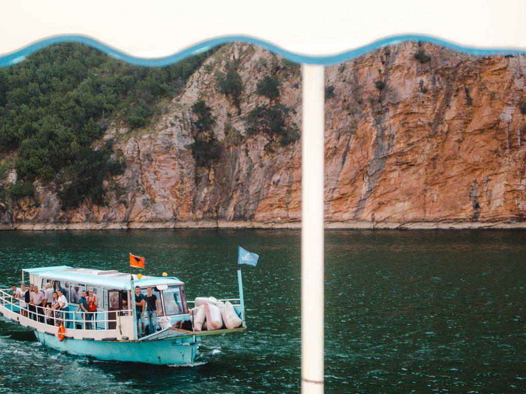 Lake Koman Boat