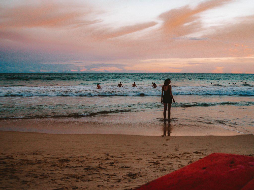 Sunset at Mirissa Beach, Sri Lanka