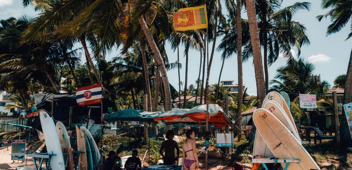 Surfing gear in Sri Lanka