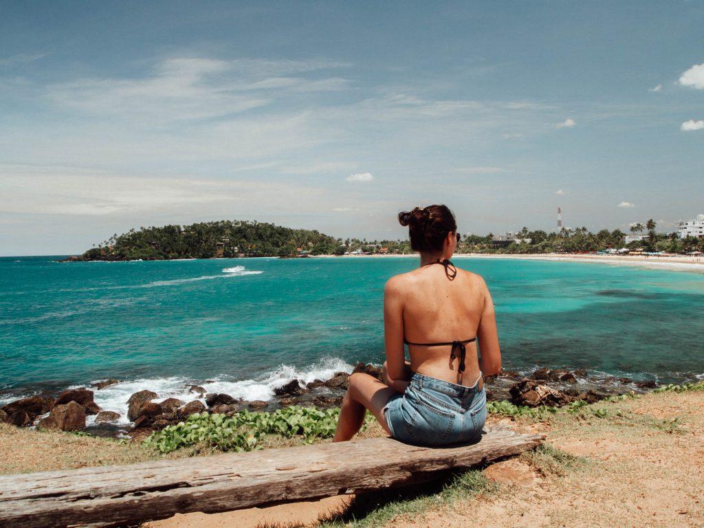 View from Parrot Rock, Mirissa, Sri Lanka