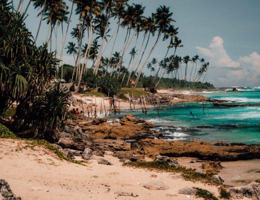Stillt Fisher area in Sri Lanka