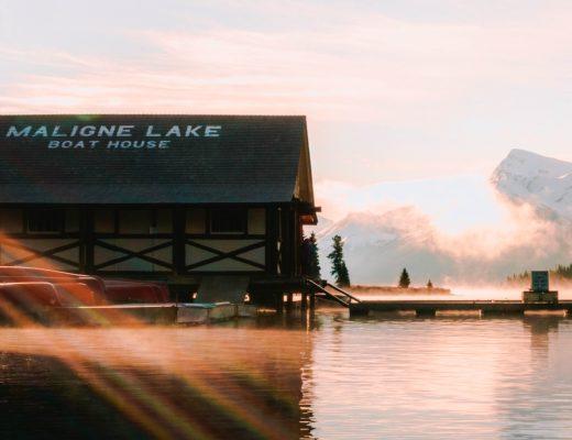 Maligne Lake Cruise to Spirit Island