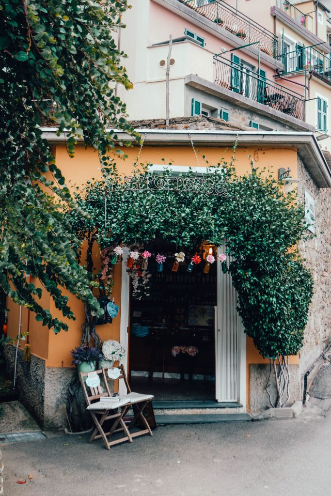 Little shop in Corniglia, Cinque Terre