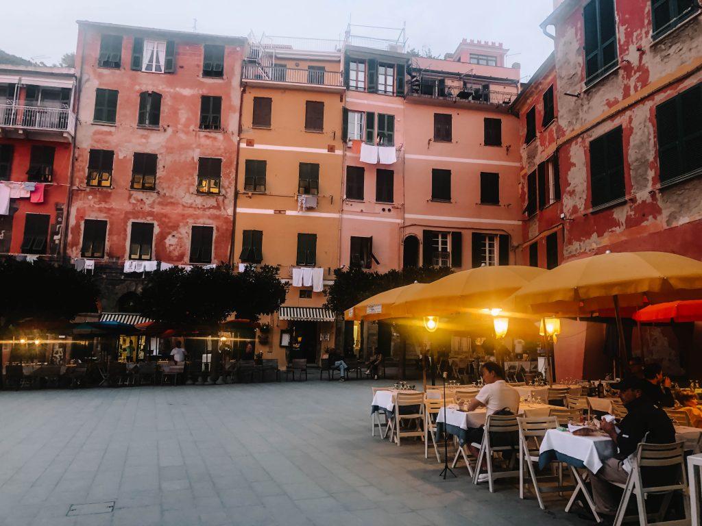 Gianni Franzi Restaurant, Vernazza, Cinque Terre Restaurant
