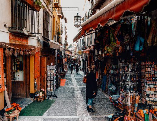 Alcaiceria, Granada, Andalucia