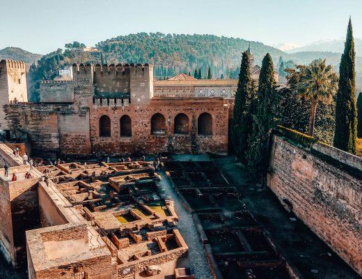 Alcazaba, Alhambra, Granada, Andalusia, Spain