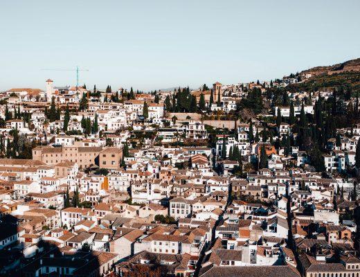 View from Alcazaba, Granada
