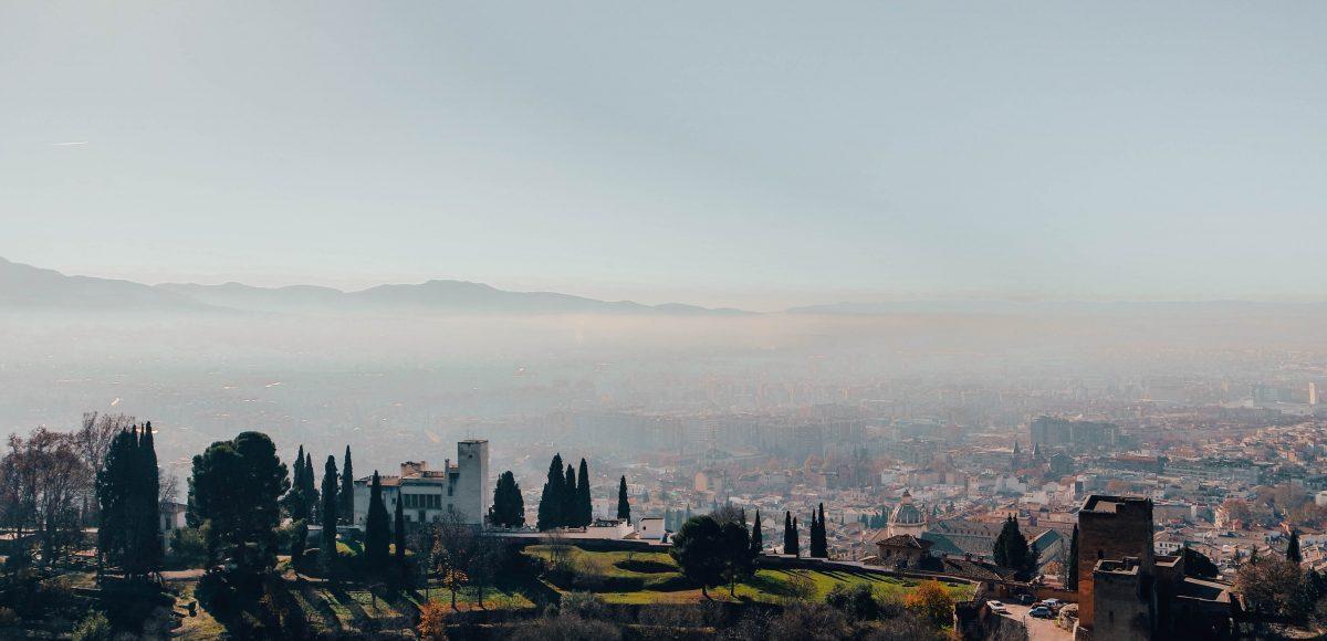 View from Alcazaba, Alhambra, Granada