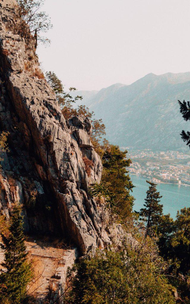 Hiking from Kotor to Tivat: Vrmac Ridge
