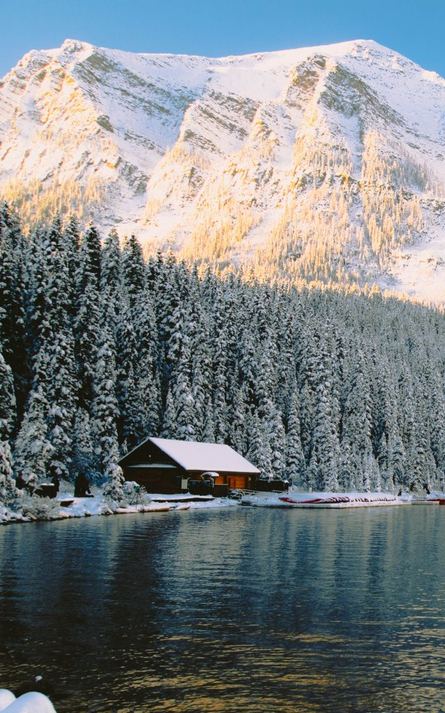 Lake Louise Boat House, Canada
