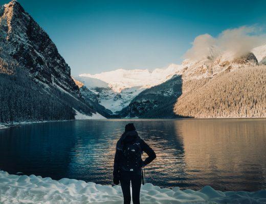 Morning views on Lake Louise, Banff, Canada