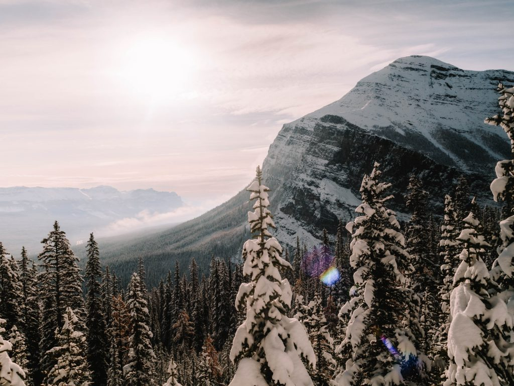 Amazing views over the Rocky Mountains, Canada