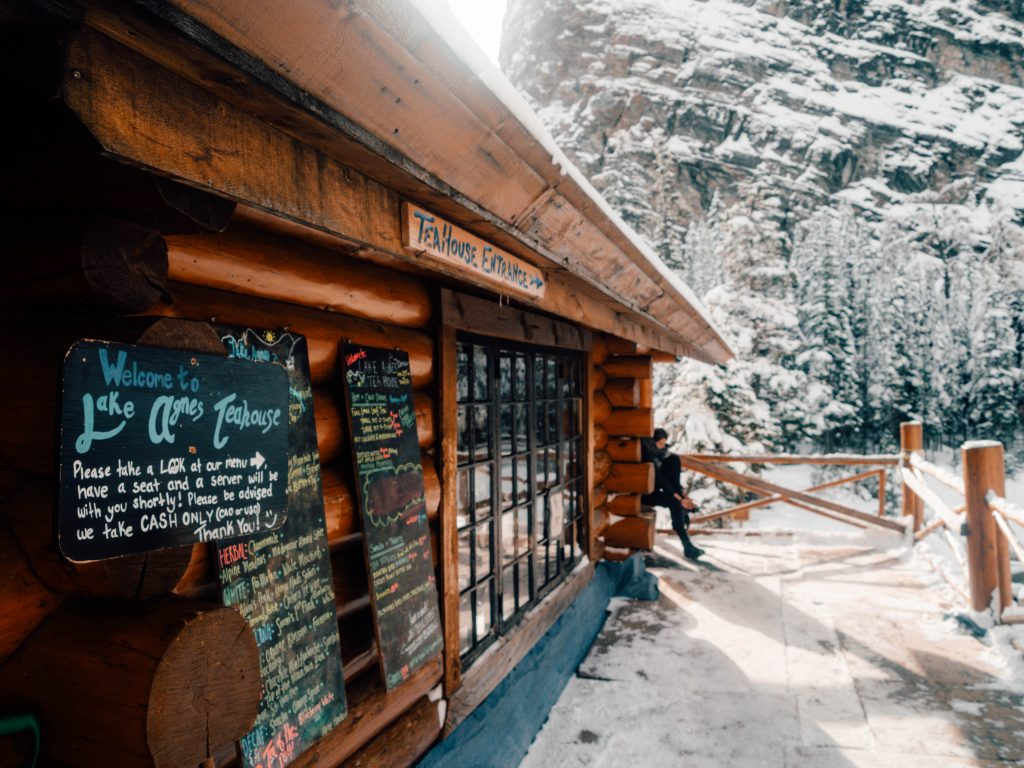 Lake Agnes Tea House, Lake Louise, Canada