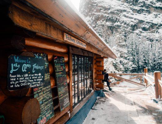 Lake Agnes Tea House, Lake Louise, Canada