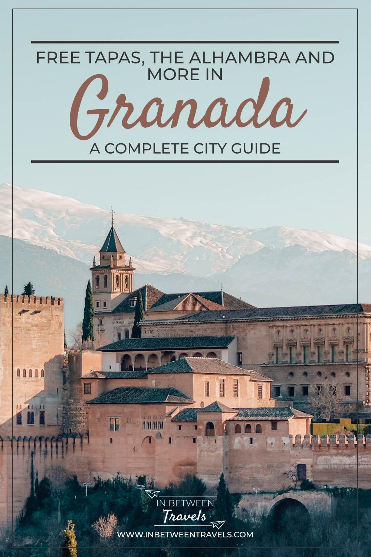 Granada City Guide, Free Tapas in Andalucia, Spain