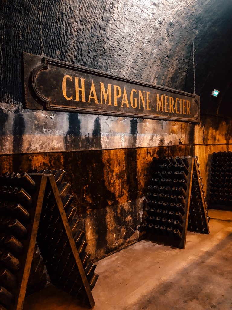 Mercier Champagne Tour in Epernay