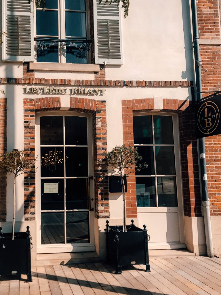Le Clerc Briant, Epernay in the Champagne Region