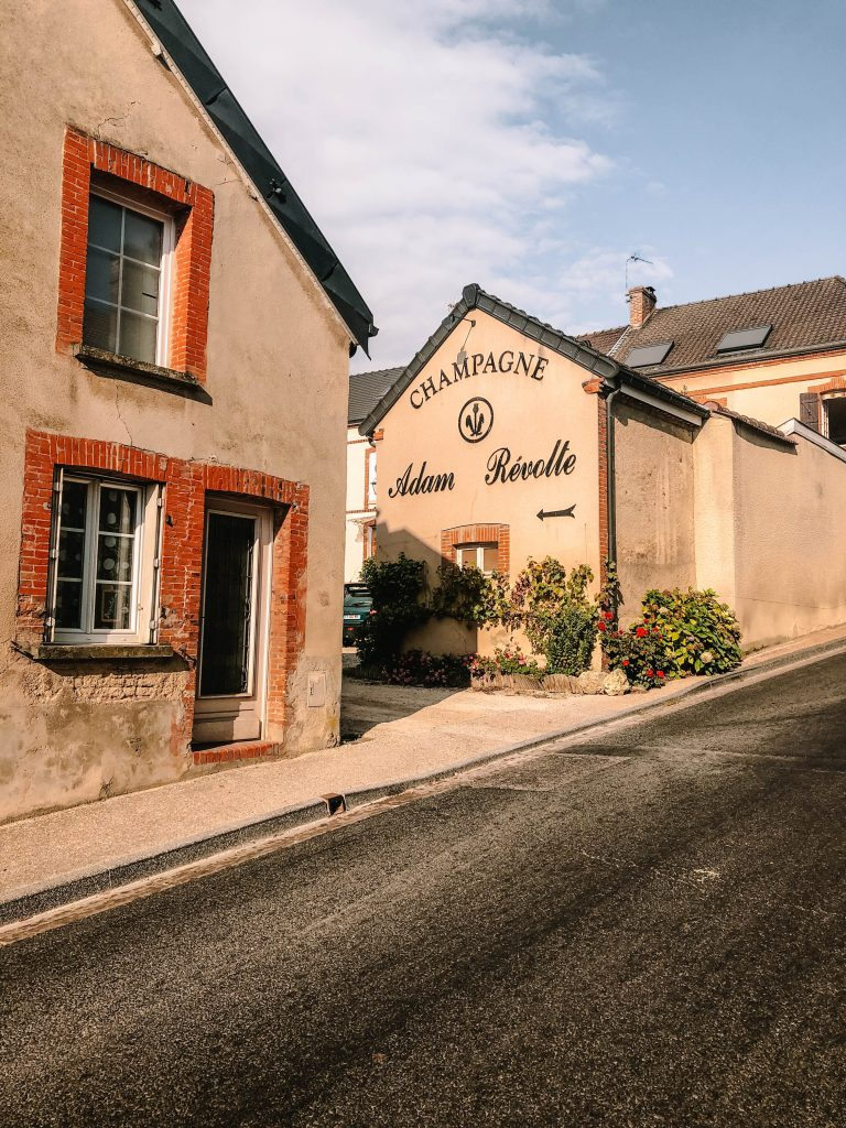 The cute village of Hautevillers in the Champagne Region