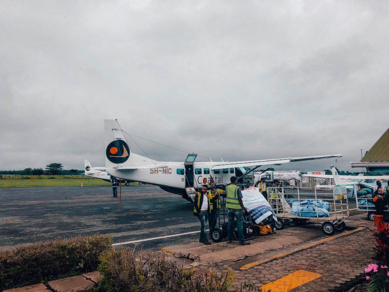 Domestic Flight in Tanzania