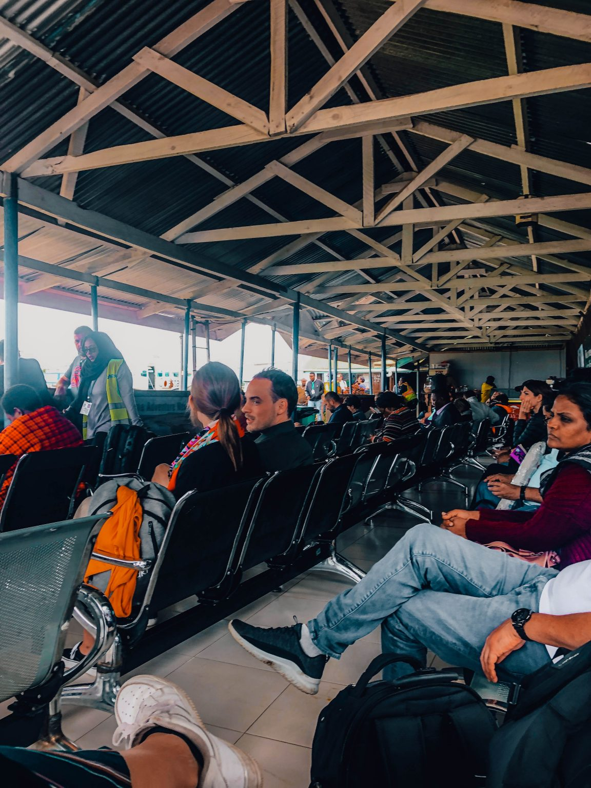 Gates at Arusha Airport