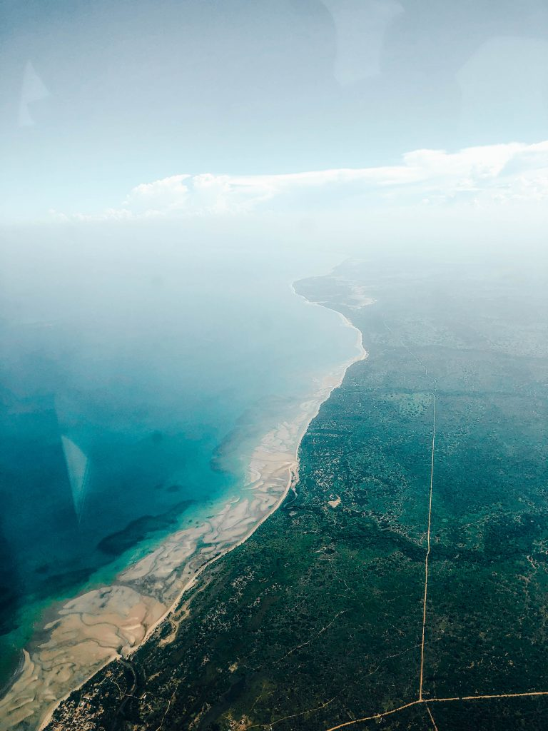 Views on Tanzania from above