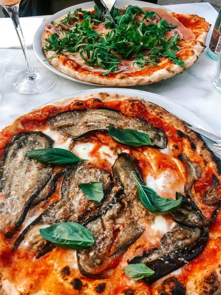 Wood oven pizza at De Buffel, Rotterdam