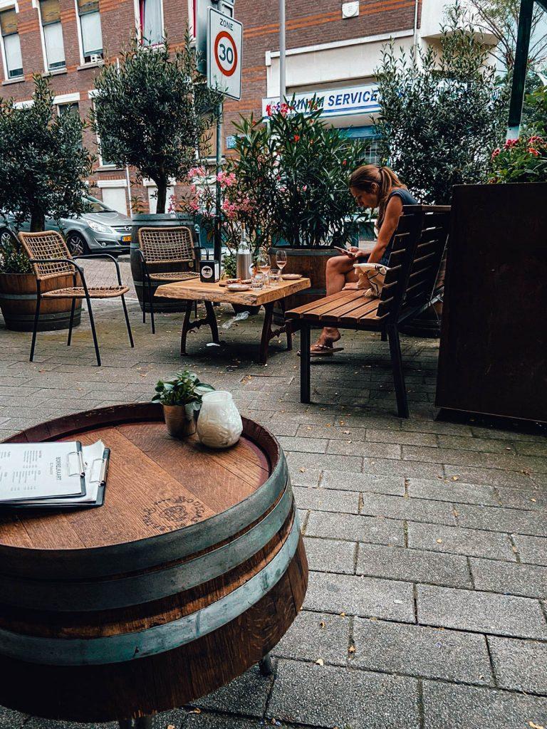 A great spot for Wine: El Parador at Middellandplein
