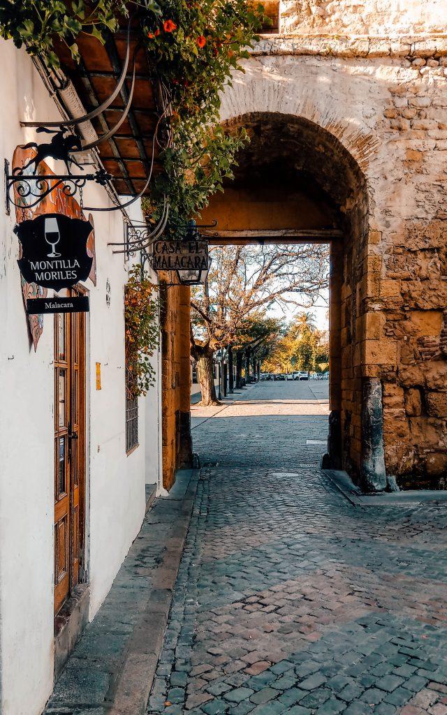 Back alleys in Cordoba, Spain
