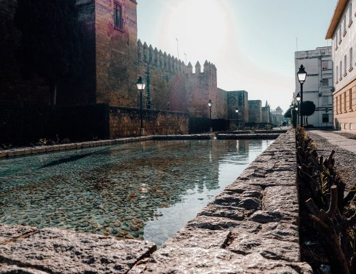 Cordoba Back of the castle, Andalusia
