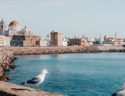 The Malacon of Cadiz, Spain