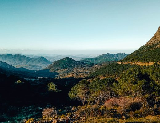 Views over the valleys in Andalusia, Spain - Roadtrip Itinerary