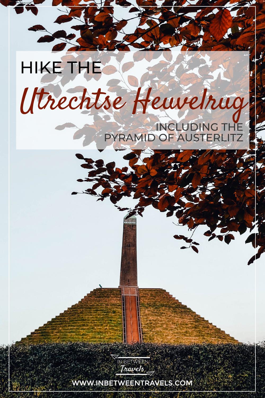 Utrechtse Heuvelrug, Pyramide van Austerlitz, NS wandeling