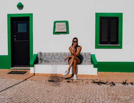 Cute houses in the Algarve, Photography