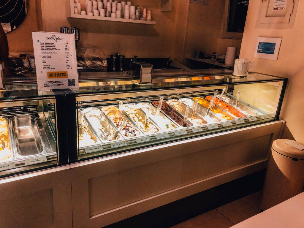 Baldo Gelato, Ice cream in Lecce, Puglia - Italy