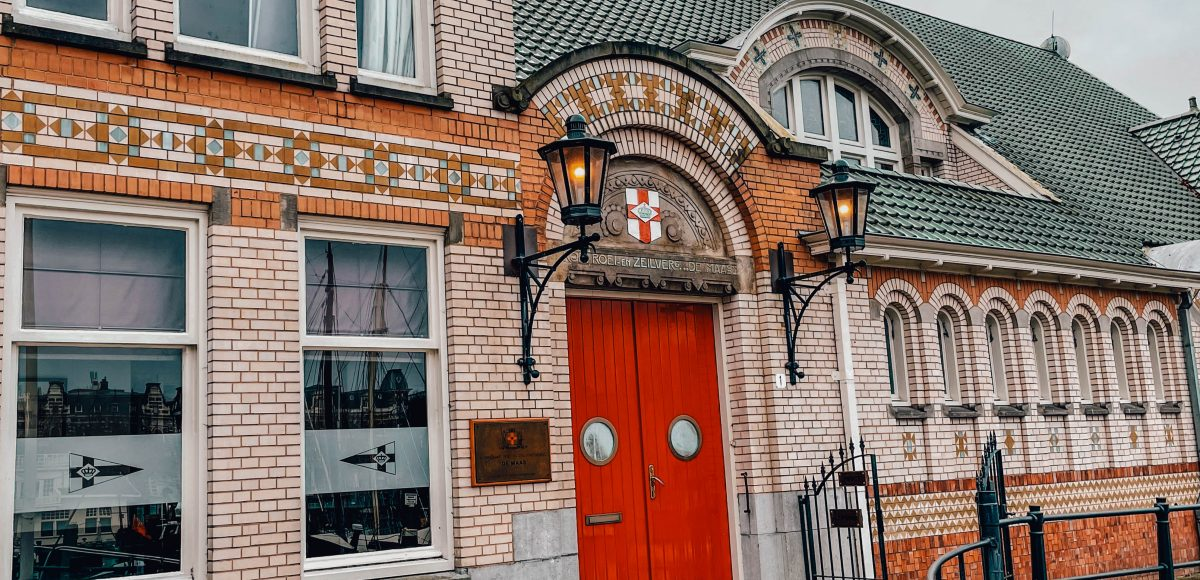 Roei & Zeilvereniging, Veerhaven, Rotterdam, Netherlands