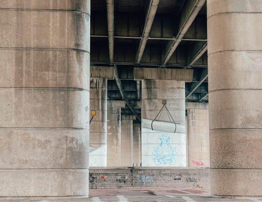 Brienenoordbrug artwork, Rotterdam, Netherlands
