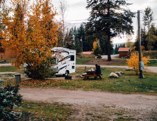 Dutch Lake Resort, Wells Grey, Canada itinerary