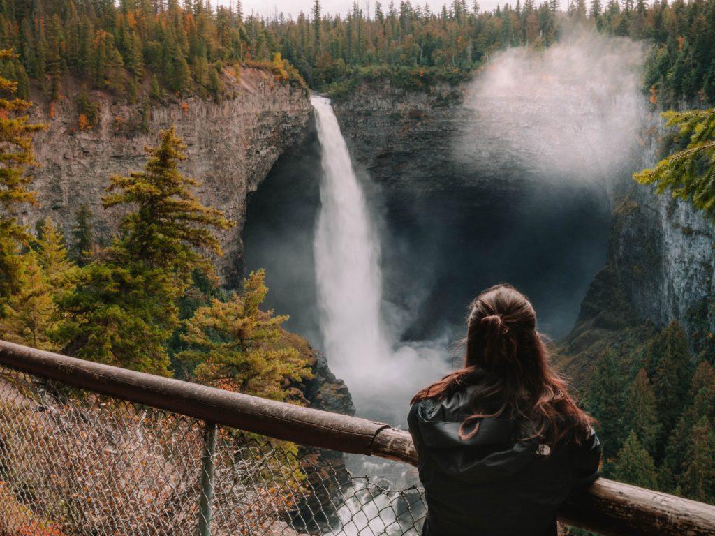 Helmcken Falls in Wells Grey, 3-week Canadian Rockies itinerary